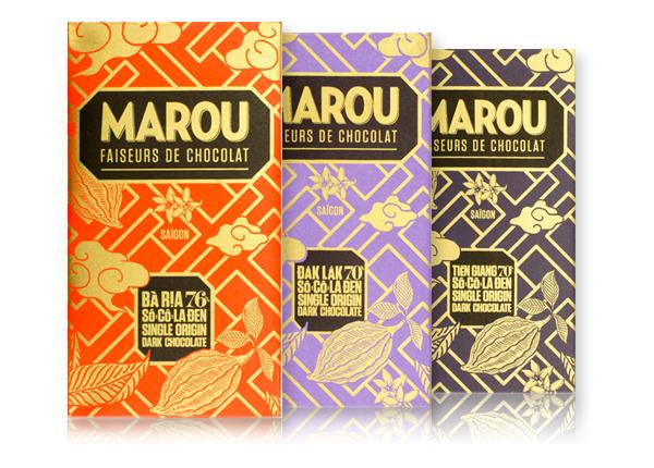 Marou chocolate bars