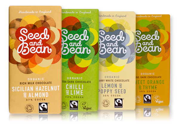Seed & Bean chocolate bar collection