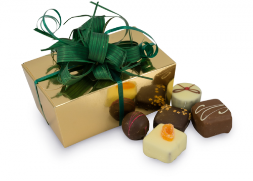 gold chocolate gift box 250g
