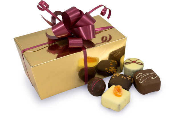 Gold Chocolate Gift Box 400g