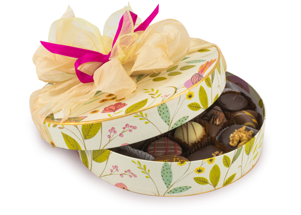 Luxury chocolate box - 375g