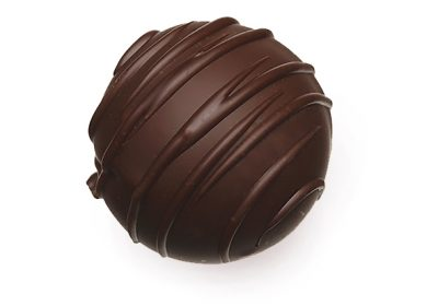 80% dark chocolate truffle