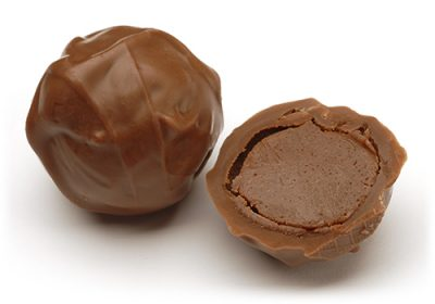 Milk Chocolate Whiskey truffle