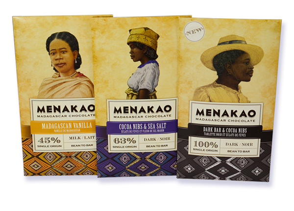 Menako chocolate bars
