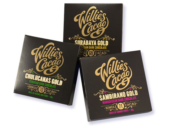 Willie's Dark Bar collection - 69% / 70% / 71%
