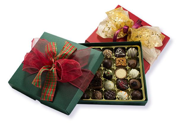 Luxury Christmas Truffle Box